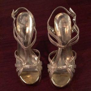Caparros - gold strappy heels
